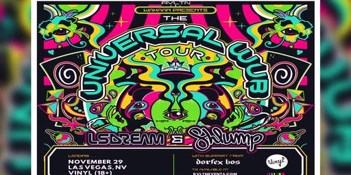 RVLTN Presents: LSDream & Shlump — Universal Wub Tour (18+)