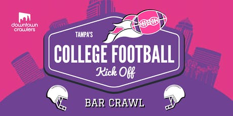 Tampa's College Football Kickoff Bar Crawl tickets