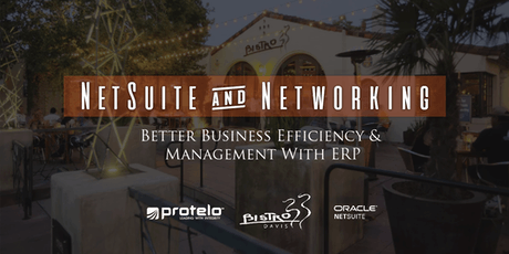 NetSuite & Networking: Better Business Efficiency and Management with ERP tickets
