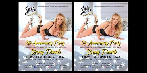 Special Event -- Stormy Daniels at Silk Madison's 8th Anniversary Party!