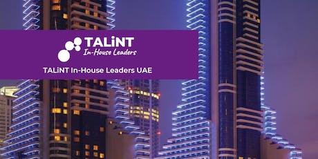 TALiNT In-House Leaders UAE 2020 tickets