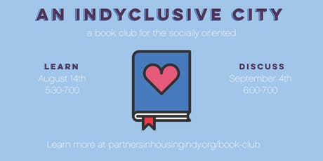 An Indyclusive City: A Book Club for the Socially Oriented tickets