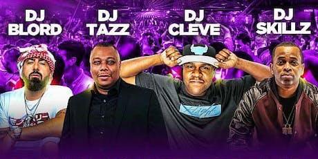 DJ B-LORD + DJ SKILLZ + DJ CLEVE + DJ TAZZ (The Greatest Show On Earth) tickets
