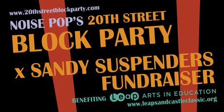 Block Party x Sandy Suspenders Fundraiser tickets