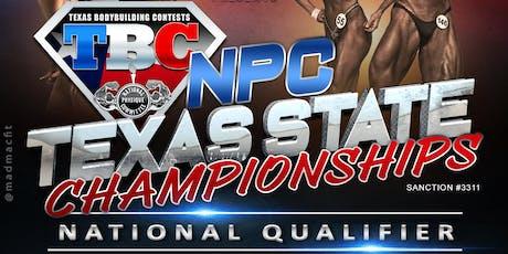 NPC Texas State Championships tickets