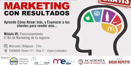 Curso Marketing con Resultados - Modulo 5 - Posicionamiento entradas