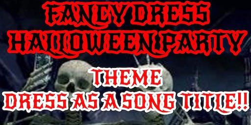 Halloween Fancy Dress Rock and Metal Night