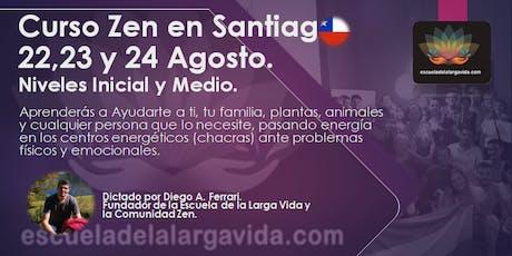 Curso Zen en Santiago: 22,23 y 24 Agosto. boletos