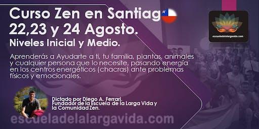 Curso Zen en Santiago: 22,23 y 24 Agosto.