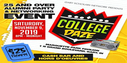 College Daze: 25 and Over Alumni Party & Networking Event