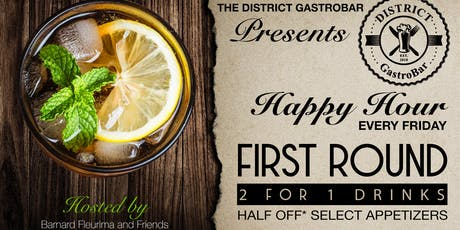 "First Round ""THE'' Happy Hour tickets"