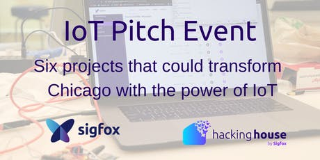 Sigfox Hacking House IoT Pitch Event tickets
