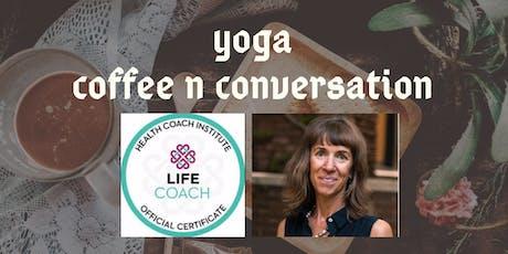Yoga Coffee n Conversation tickets