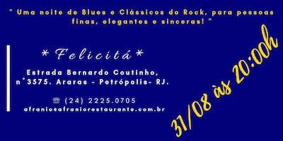 """Banda """"Guitarra de Prata"""" apresenta: """"The Elegant Blues Night""""."""