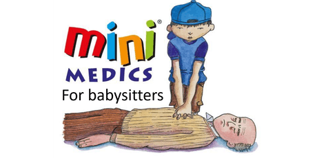 Mini Medics for babysitters (4 week course) tickets