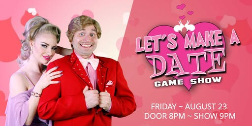 Let's Make A Date Gameshow at The White Rabbit Cabaret