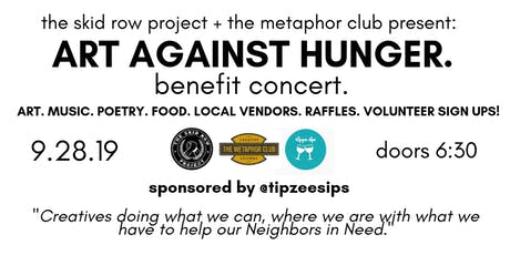 """Art Against Hunger"" Benefit Concert tickets"