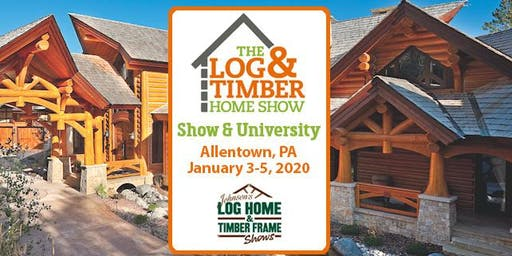 Home Shows Near Me 2020.Allentown Pa 2020 Log Timber Home Show Tickets Fri Jan