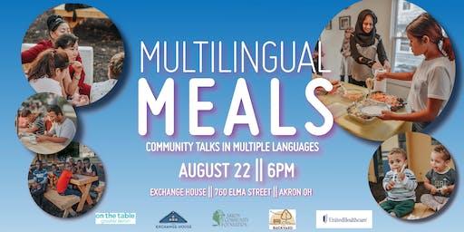 Multilingual Meals: Healthcare