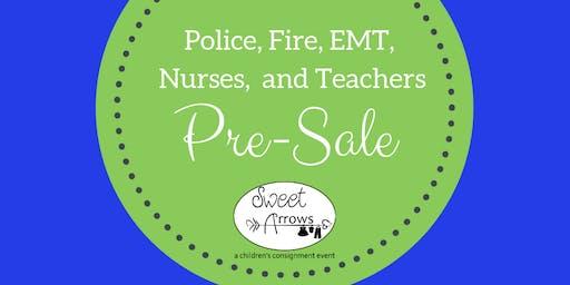 Police, Fire, EMT, Military, Nurses, and Teachers Hero Pre-Sale