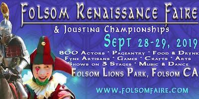 27th Folsom Renaissance Faire & International Jousting Tournament
