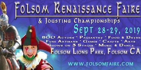 27th Folsom Renaissance Faire & International Jousting Tournament tickets