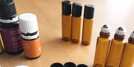 Sip 'N Sniff & Make Your Own Essential Oil Roll-On! (Aug 29) tickets
