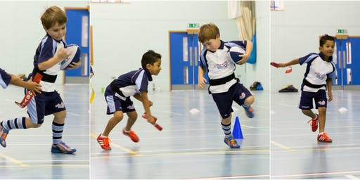Free Rugbytots taster sessions at Brockenhurst College