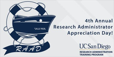 Research Administration Appreciation Day 2019 (RAAD)
