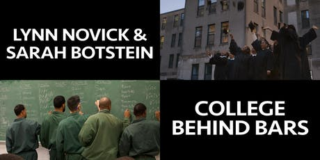 Documentary Filmmakers Lynn Novick and Sarah Botstein: College Behind Bars tickets