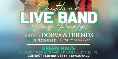 Outdoor Live Band Day Party billets