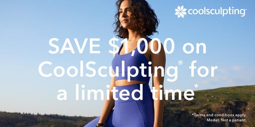 Coolsculpting Body Contouring Take it Further Event $1000 off!