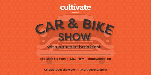 Cultivate Car & Bike Show with a Pancake Breakfast!