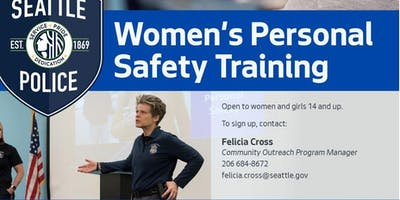 Women's Personal Safety Training- Greenlake Community Center