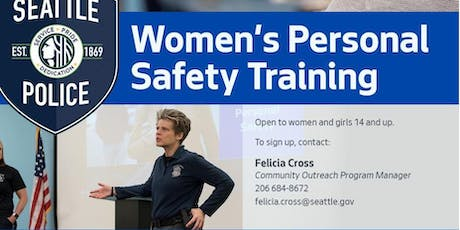 Women's Personal Safety Training- Greenlake Community Center tickets