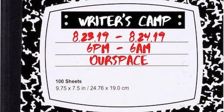 Writer's Camp tickets