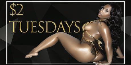 $2 Tuesdays @ Stadium Club DC | Top Shelf $2 Drinks tickets