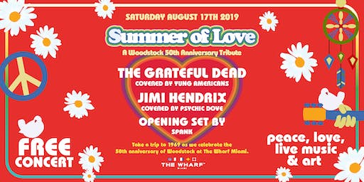 Summer of Love: A Woodstock 50th Anniversary Tribute