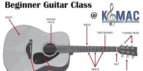 Beginner Guitar Class, ages 6-8 tickets