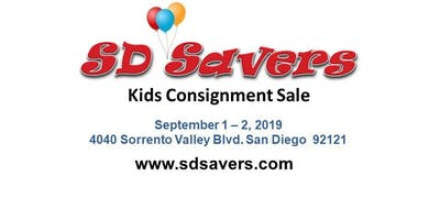 SD Savers Kids Consignment Sale