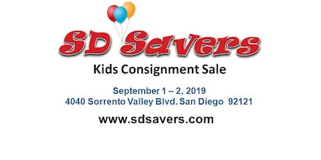 SD Savers Kids Consignment Sale tickets