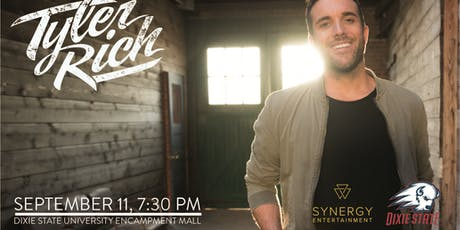 Tyler Rich Live in Concert at Dixie State University tickets