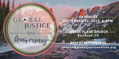 G.L.O.B.A.L. Justice Fifth Anniversary Celebration