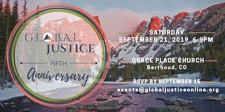G.L.O.B.A.L. Justice Fifth Anniversary Celebration tickets