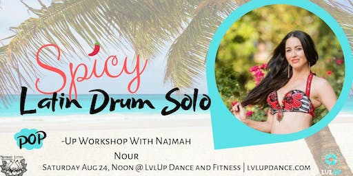 Spicy Latin Drum Solo with Najmah