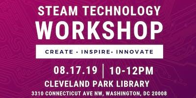 STEAM Technology Teen Workshop: Bring an iPhone - August 17