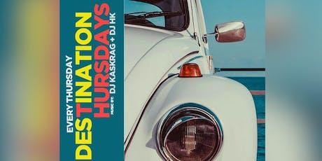 THU: Reggae Destination Thursdays $5 Rum Punch & Drinks  Adams Morgan @DMVSocialEvents tickets