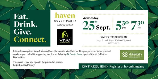 September 2019 Cover Party Featuring Vive Exterior Design