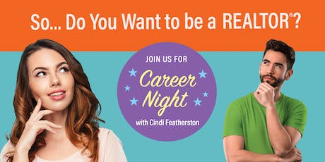 Career Night with Cindi Featherston - September 5, 2019 tickets