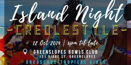 Island Night Creolestyle tickets